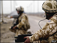 British troops in Basra Province