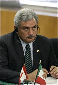 Alberto Cárdenas, secretario de Agricultura de México