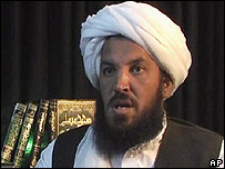 Abu Laith al-Libi in video released April 2007 (picture from Intelcenter)