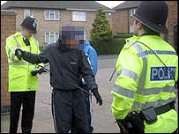 Police talk to youths