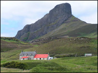 Isle of Eigg. Pic by James Gray
