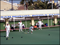 Spanish bowling club