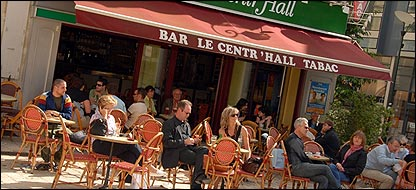 French street cafe