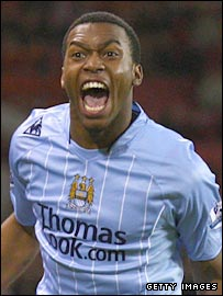 Manchester City striker Daniel Sturridge