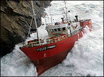 The trawler, Spinningdale. (Pic: PA/Maritime and Coastguard Agency)