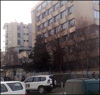 UNMIK headquarters, Kosovo