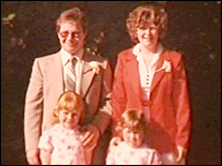 Fred and Edwina Boyle and their daughters