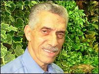 Nilo Figueiredo, president of Portela samba school