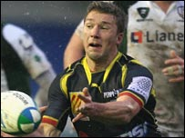 Chris Cusiter in action for Perpignan