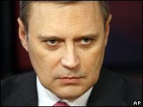 Михаил Касьянов (28 января 2008 г.)