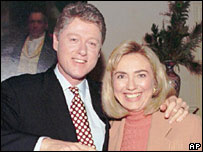 Bill and Hillary Clinton in 1993