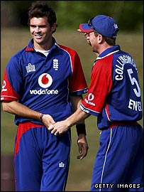 James Anderson and Paul Collingwood