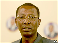 Idriss Deby (file photo)