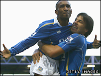 Jermain Defoe and Milan Baros