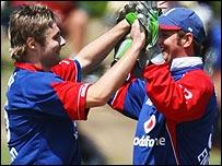 Luke Wright and Phil Mustard