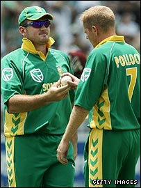 Graeme Smith and Shaun Pollock