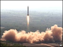 Pakistan tests Ghauri medium-range missile