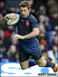 France's outstanding winger Vincent Clerc