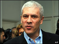 Serbian President Boris Tadic, 3 February 2008