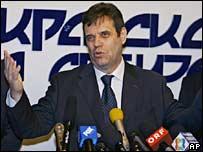 Serbian Prime Minister Vojislav Kostunica. File photo