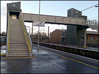 Lockerbie station bridge