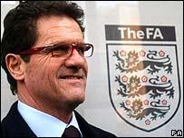 England manager Fabio Capello