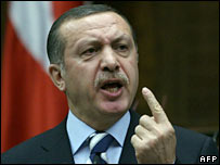 Turkish Prime Minister Recep Tayyip Erdogan. File photo