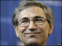Turkish novelist and Nobel Laureate Orhan Pamuk. File photo