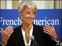 Christine Lagarde (22 October 2007)