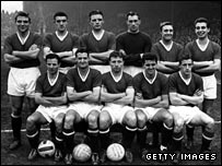 Eight Manchester united players died in the Munich air crash