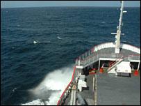 HMS Endurance, BBC
