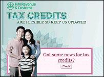 Pic: Tax credits web site