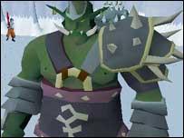 Screenshot from Runescape, Jagex