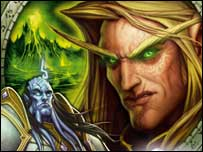 Box art from World of Warcraft: The Burning Crusade, Blizzard