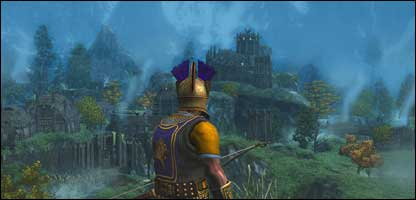 Screenshot from Age of Conan, Funcom