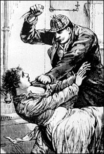 A sketch of one of the Jack The Ripper attacks