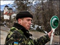 Украинский миротворец в Косове