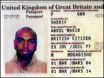 Sherif's passport