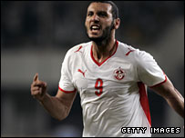 Tunisian forward Yassine Chikhaoui