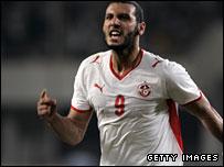 Tunisian forward Yassine Chikhaoui