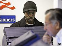 Votante afroestadounidense.
