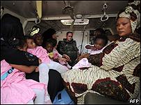 Evacuación en Chad