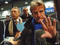 Bernard Kouchner, canciller franc�s