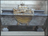 King Charles XII's tomb