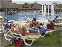 Hotel en Cuba.
