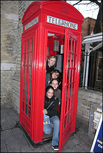 French tourists in old K2 in Oxford