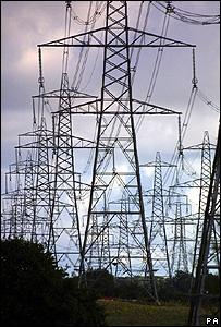 Electricity pylons (Image: PA)