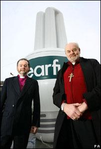 Dr Richard Chartres and James Jones