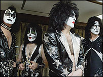 Gene Simmons, Eric Singer, Paul Stanley and Tommy Thayer of Kiss