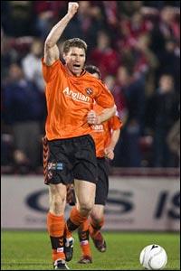 Darren Dods hails his equaliser for Dundee United